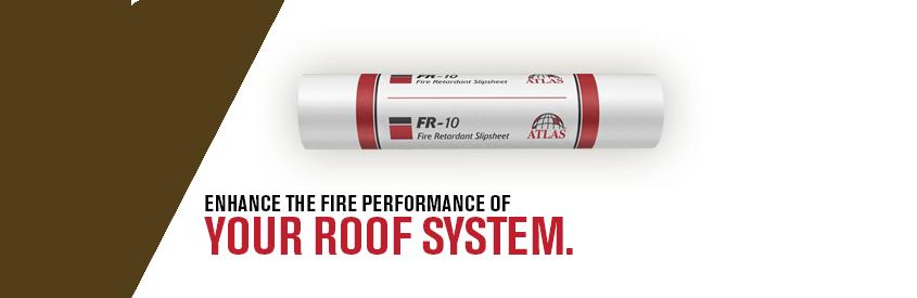 Fr Slipsheet Inorganic Fire Retardant Underlayment Atlas Roof Insulation